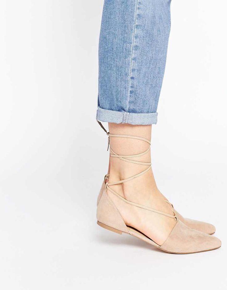 Best 25 Lace up ballet flats ideas on Pinterest  Lace up