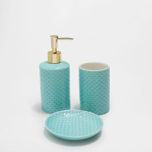 Image of the product SCALES CERAMIC BATHROOM SET