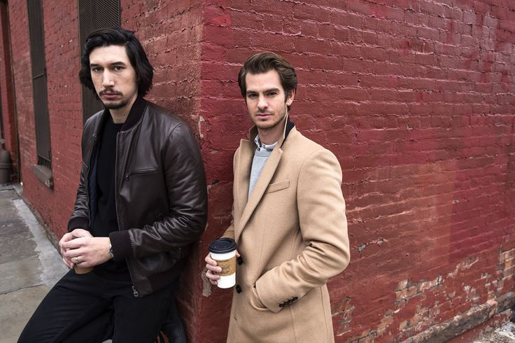 """Adam Driver and Andrew Garfield for """"Silence."""""""