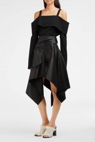 PROENZA SCHOULER Asymmetric Wrap Skirt. #proenzaschouler #cloth #
