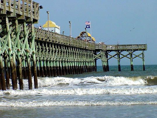 24 best historic myrtle beach images on pinterest for North myrtle beach fishing pier