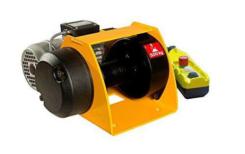 Huchez Treuils Motorbox500 Treuil électrique 500 kg: Treuil électrique levage et Traction Appareil de levage et de Traction câbles non…