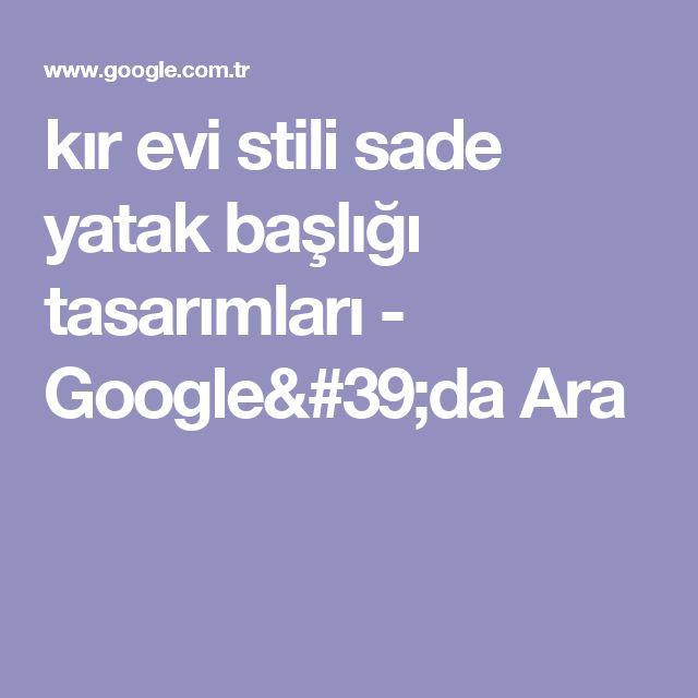 kır evi stili sade yatak başlığı tasarımları - Google'da Ara