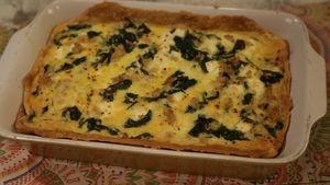 Spanakopita Quiche Recipe | The Chew - ABC.com