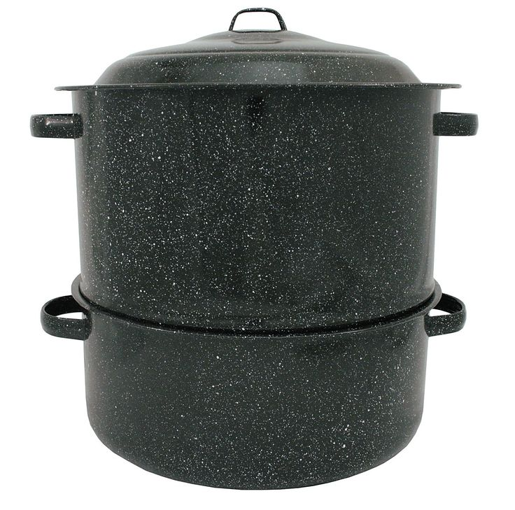 Granite Ware 6317-1 19-Quart Enamel-on-Steel 2-Tier Clam-and-Lobster Steamer *** Click on the image for additional details.