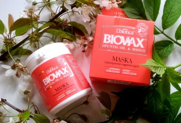 Biovax regenerująca maseczka Opuntia Oil & Mango