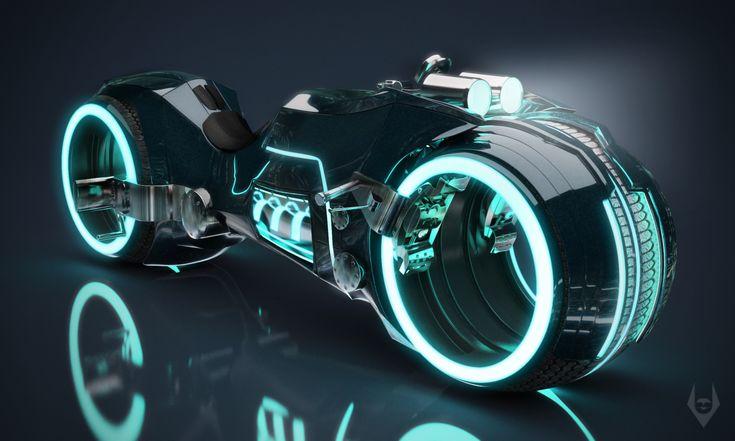 Tron Light Cycle Reboot by Arte-Animada on deviantART