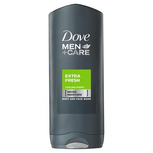Dove Men+Care Extra Fresh Body & Face Wash formula includes Micromoisture technology, micro wax capsules filled with natural oil that deliver moisturisation direct to the skin. #skin #skincare #hair #haircare