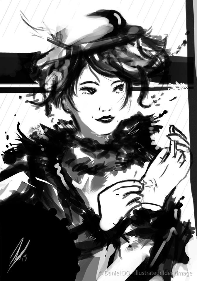 """Glamour"" By Daniel Do - Digital Art 2013 www.facebook.com/Identimage www.identimage.com"
