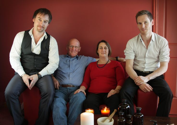 Two generations of the Phillips clan.  Ben, Chris, Maureen, Jon (left to right). 2012