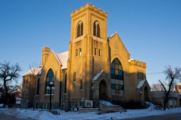 An old abandoned Church in Brandon Manitoba Canada