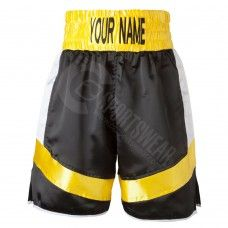 Professional Competition Boxing Trunks Kansas City Missouri, Boxing Shorts are made of 100% heavy satin/polyester fabric.
