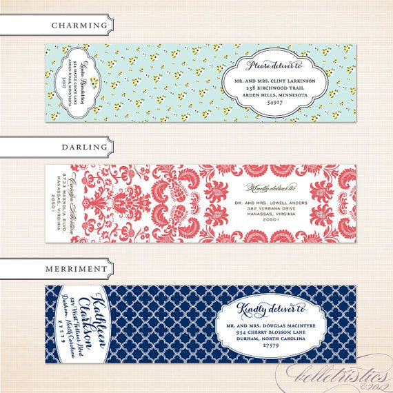 33 best a d d r e s s i n g images on Pinterest Wedding - sample return address label