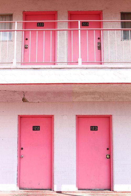 Fun City, the pink motel in Las Vegas.