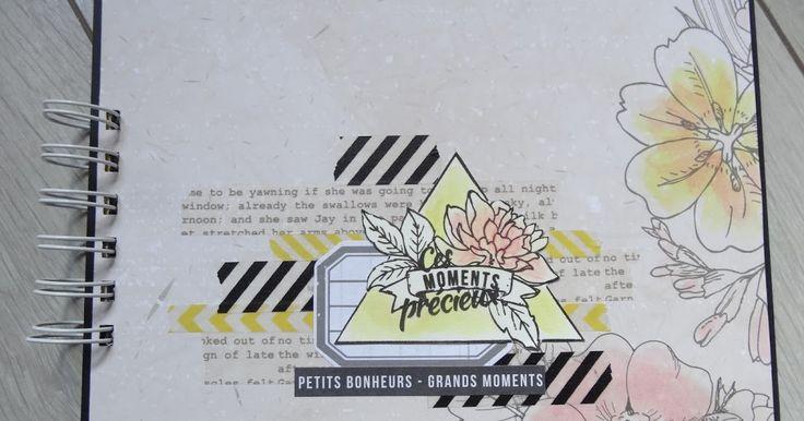Voici un nouveau mini-album pour la DT Scrap'à Faire avec les jolis papiers Entre les lignes de Karine Cazenave-Tapie ... et Némo ;) Cette...