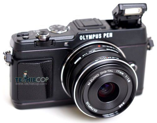 Olympus PEN E-P5 – Good photo quality, great performance.