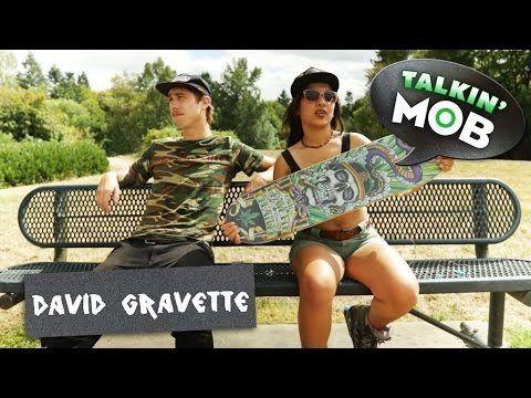 Talkin' MOB with David Gravette | Hippy Skull | Newberg Skatepark: In honor of David… #Skatevideos #david #gravette #Hippy #Newberg