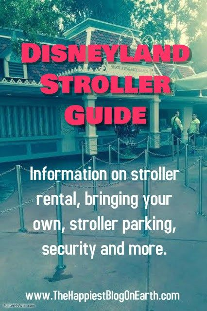 Disneyland Stroller Guide | The Happiest Blog on Earth
