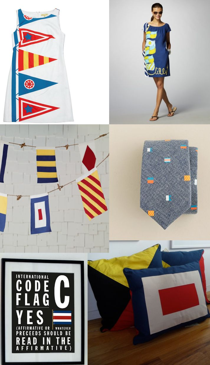 So many things to make using flags as the basic design - we love these ideas