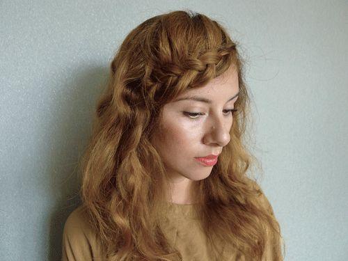 braided bangs tutorial - photo #5
