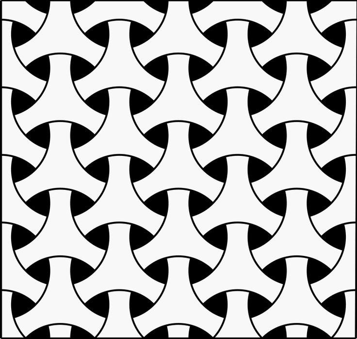 Celtic repeating geometric pattern | fabric design ideas | Pinterest
