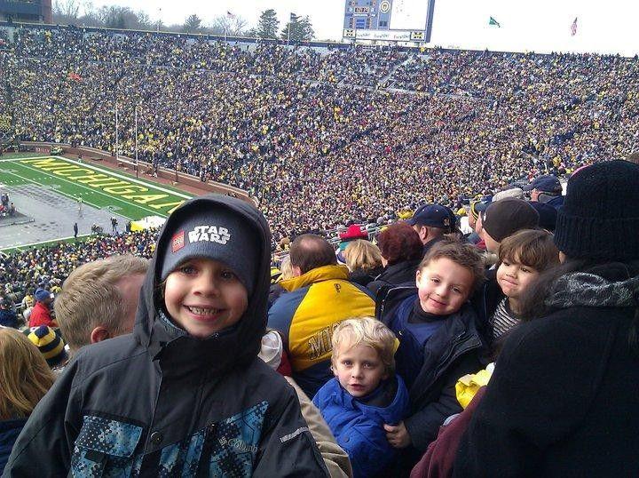 Michigan Wolverines Hockey vs. Niagara Purple Eagles Hockey Ann Arbor, MI #Kids #Events