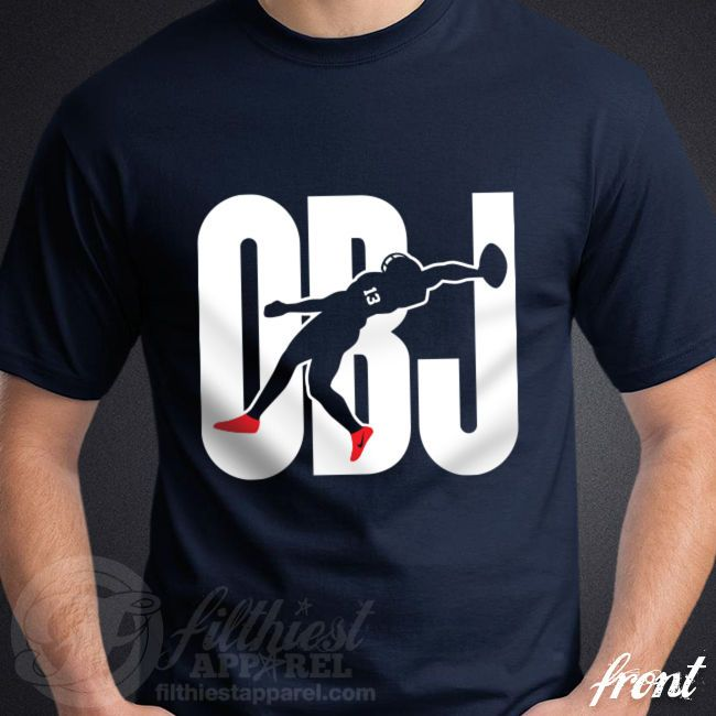 OBJ Odell Beckham Jr Catch T-Shirt 13 New York Giants GMEN Football Fan Jersey #Gildan