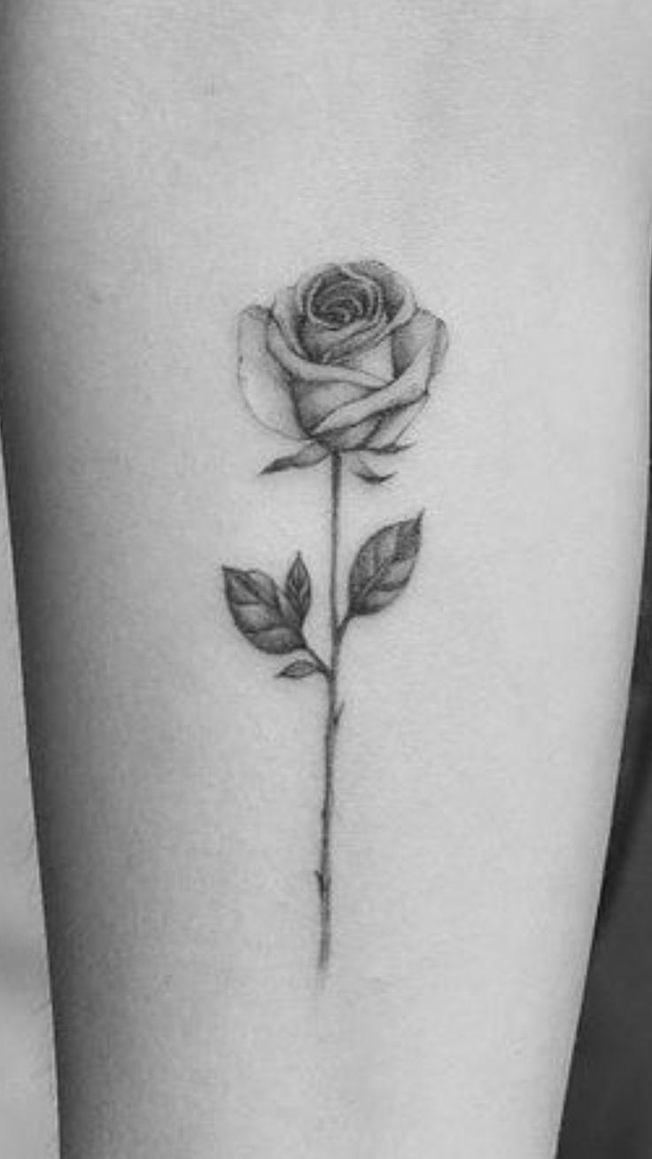 genial Ich mag diese Rosenform, nur teilweise geöffnet #tattogirl #tattofeminina #tatt … #Tattoos #Ale