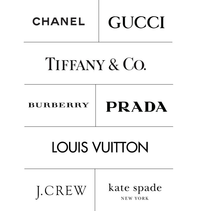 High fashion brands for women
