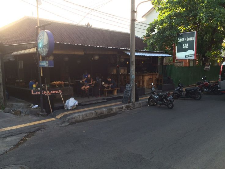 Bar: Linga Longa Bar Address: Jalan Sudamala Tel: +62 813-3858-3475 very popular, lively bar during the evening due to its excellent group playing live music. go try the hog roast that is sometimes available & cooked right before your eyes.