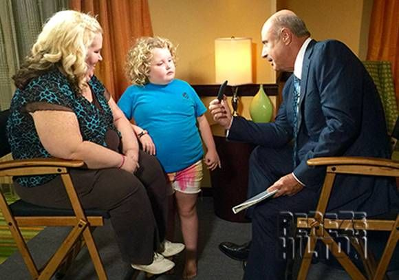 Mama June Sits Across From Dr. Phil And Claims Photo Of Her Secret Hotel Rendezvous With Child Molester Is A FAKE!
