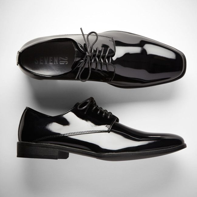 Black Tuxedo shoes by Generation Tux