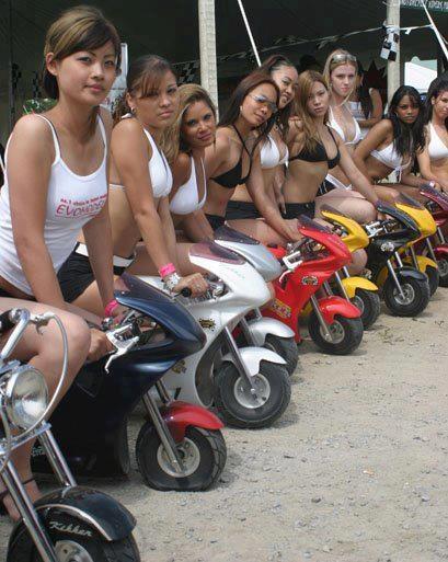Mini Bike Girls Pit Bike And Mini Customs Pinterest
