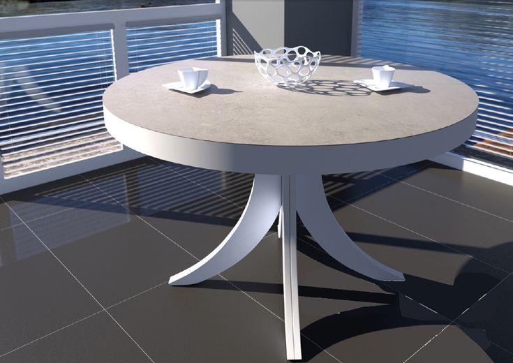 25 melhores ideias de mesa de jantar redonda no pinterest mesas de jantar redondas mesa - Mesas extensibles redondas ...