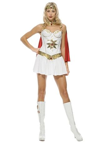 She Ra available for hire in sizes 8/10 and 12/14