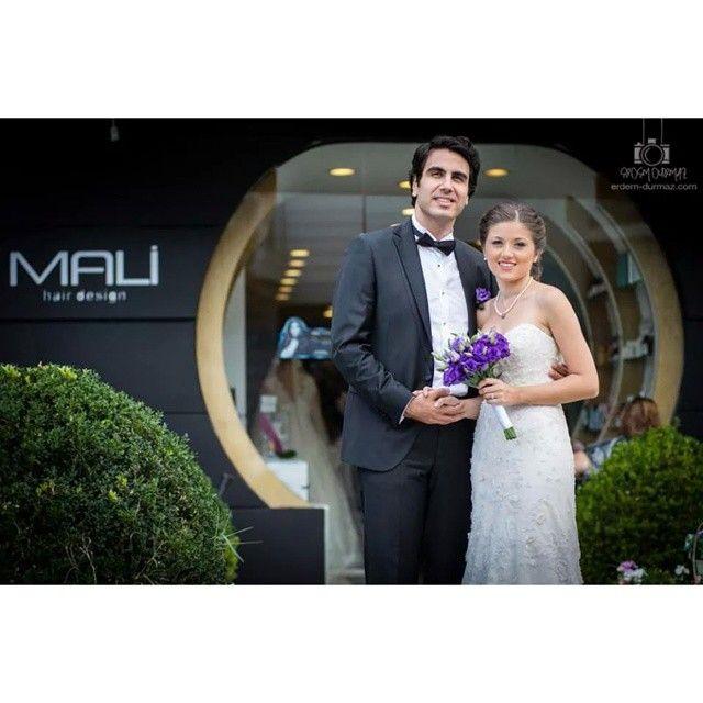 Mali Kuaför Gelin ve Damatları en özel günlerine, en iyi şekilde hazırlıyor. #malikuafor #dugunn #wedding #gelindamat