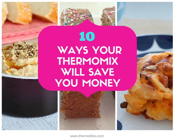 Deciding whether or not a Thermomix is worth the cost? Check out our '10 Ways Your Thermomix Will Save You Money' and decide for yourself!
