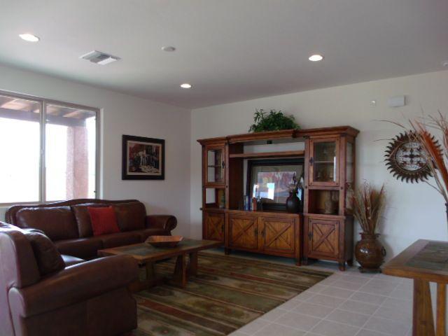 Great Room in Dorn Homes' Chardonnay Model at Bella Vista North