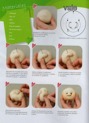 Revistas de manualidades Gratis: Como hacer muñecos paso a paso