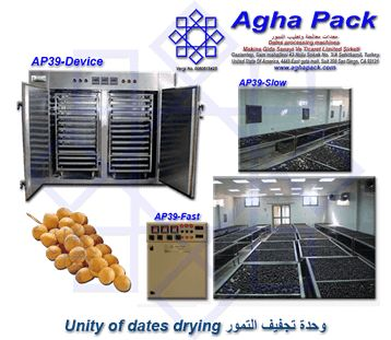 Unity of Dates Drying