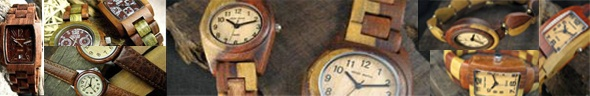 Wooden watches from tense wood watches