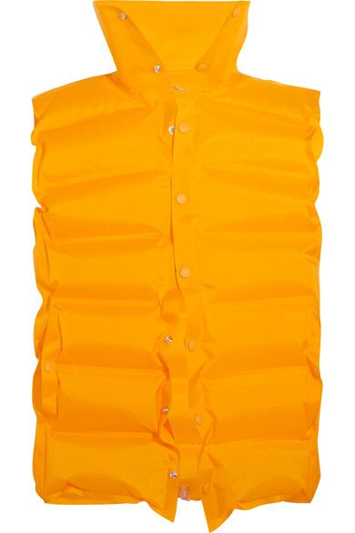 Balenciaga - Inflatable Quilted Shell Vest - Marigold - FR38