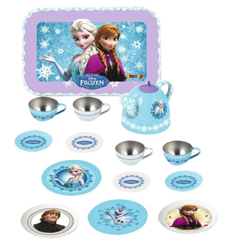 Simba frozen tin tea set #frozen #disney #simbatoys #happy #kids #toys