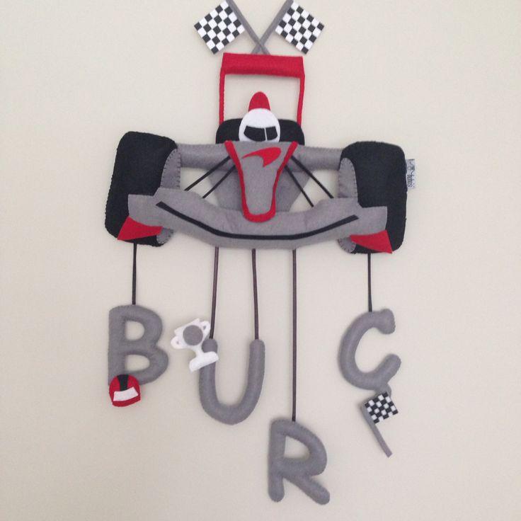 Racecar felt F1 formula mclaren