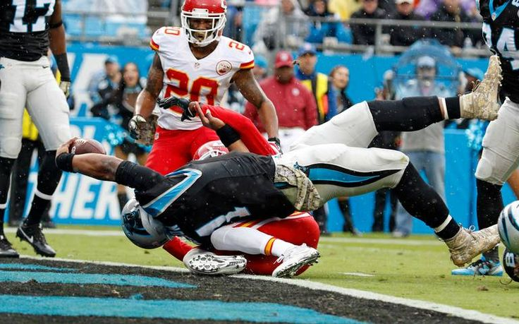 A Marcus Peters strip on Kelvin Benjamin with 20 seconds left, gave Chiefs kicker Cairo Santos the chance to kick a game-winning 37-yard field goal as time expired, to help the Chiefs defeat the Carolina Panthers 20-17. The game was knotted up at 17 when Benjamin caught a pass from Cam Newton, and Peters ripped...