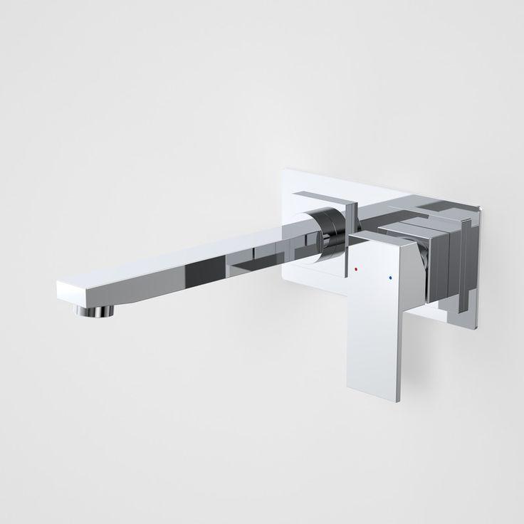 Quatro Solid Wall Basin Mixer  http://www.caroma.com.au/bathrooms/mixer-taps/quatro-solid/quatro-solid-wall-basin-mixer