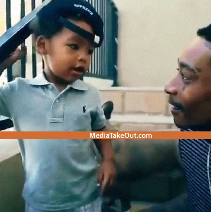 AWWWWW Baby Bash Already Knows his Dad Wiz Khalifa's Songs!!! He Is The Cutest!!!!!