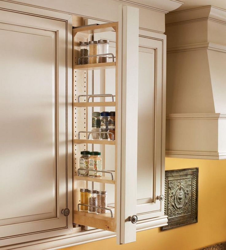 Kitchen Cabinet Spice Storage 1000 Ideas About Kraftmaid Cabinets On Pinterest Medallion Cabinets