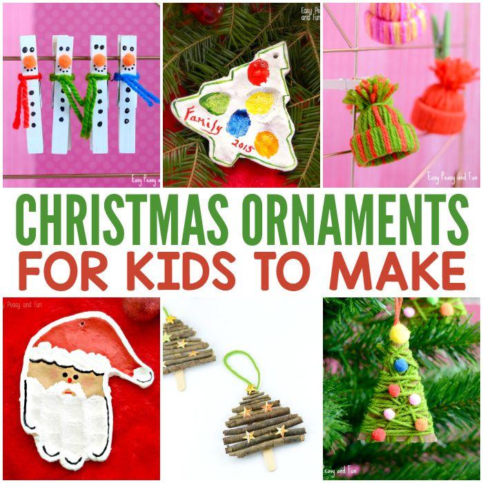 Décorations de Noël mignon pour les enfants à faire
