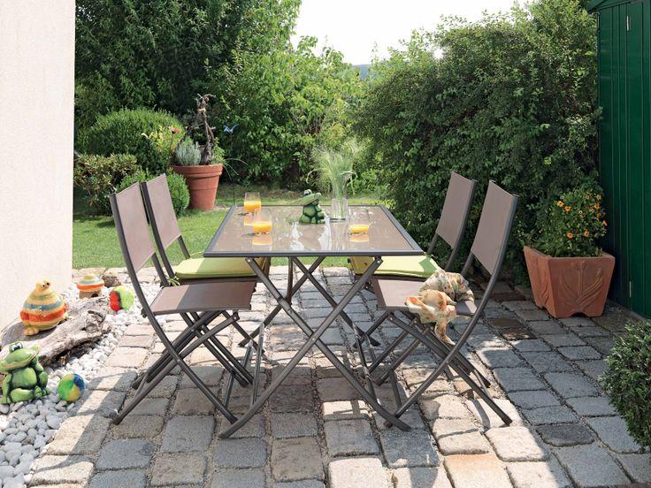 Micul dejun in aer liber. Set Siesta, 999 lei #gradina #mobilier #kikaromania #gradina #terasa